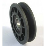 IDLER PULLEY A SECTION 90mm PLASTIC 20mm CENTRE - IP9701