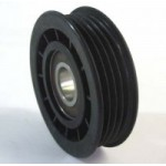 IDLER PULLEY STEEL 4PK NYLON PLASTIC - IP9002