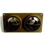 LOUVRE UNIVERSAL AIR CONDITIONING - BROWN - LV0350