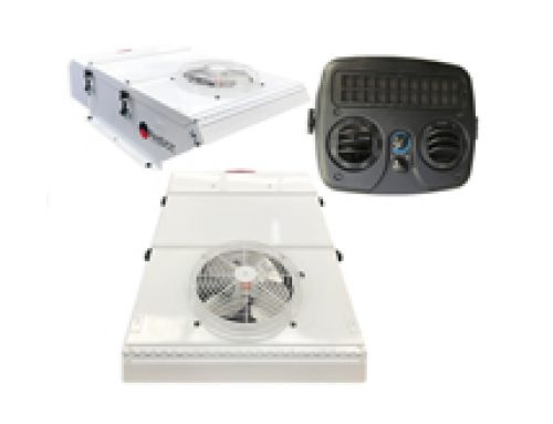 Roof top DC Electric Air Conditioning System